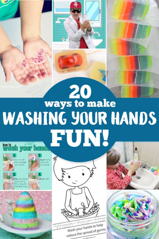 With the spread of the flu and germs, we are all becoming more aware of the need to make sure everyone is washing their hands frequently and thoroughly! Keep your family as safe as possible with these 30 clever ideas for making Hand Washing for Kids FUN! Whichhand washing activities for preschoolers are your favorites? We have ideas for toddler, preschool, pre k, kindergarten, first grade, 2nd grade, 3rd grade, elementary students, and more!