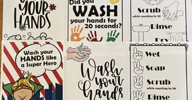 20+ FREE Wash yoru hands posters