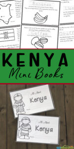 FREE Kenya For Kids Printable Book -help kids learn about this amazing country in Africa through a printable reader for kindergarten, first grade, 2nd grade, 3rd grade, 4th garde, 5th grade, and 6th grae students to learn about countries around the world.