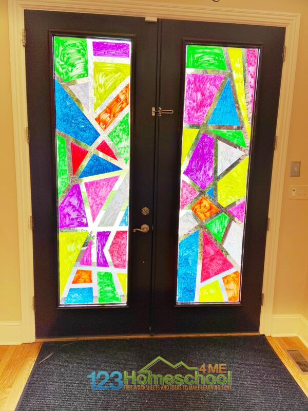 Stained Glass Window Craft For Kids