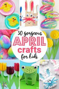 Fun april crafts for kids