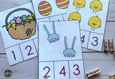 free printable easter activities for preschoolers during april