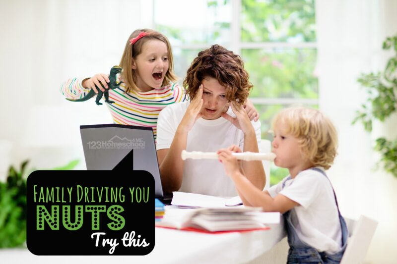 family driving you nuts as you stay at home practicing social distancing? Try these suggestions