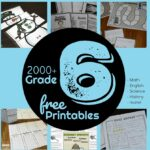 2000+ pages of grade 6 worksheets, games, and activities to make learning math, english grammar, language arts, history, geography, science, music and more fun #grade6 #6thgrade #homeschool