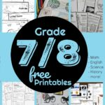 grade 7 /8 free printables