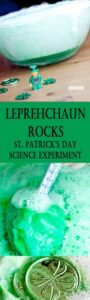 leprechaun rocks science experiment for st patricks day activities