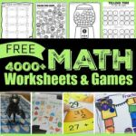 4000+ free math worksheets, games, and activities for elementary age kids