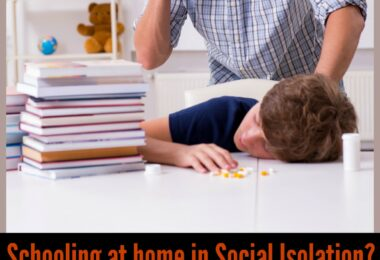Suddenly homeschooling? Well actually... you are not a homeschooler at all! If school at home isn't working here is how to get some balance and make social distancing work