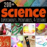 Science Experiments, printables, lessons, and projects to make science fun for kids from preschool, pre k, kindergarten, grade 1, grade 2, grade 3, grade 4, grade 5, and grade 6