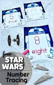 star wars number tracing