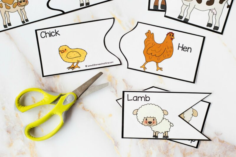 Animal Babies and their Mothers Printables