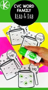 Cooking up Rhymes Do a Dot Printables