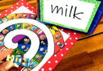 practice for learning words with ending blends like milk