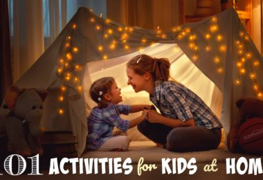 101 FUN Activities for Kids at Home