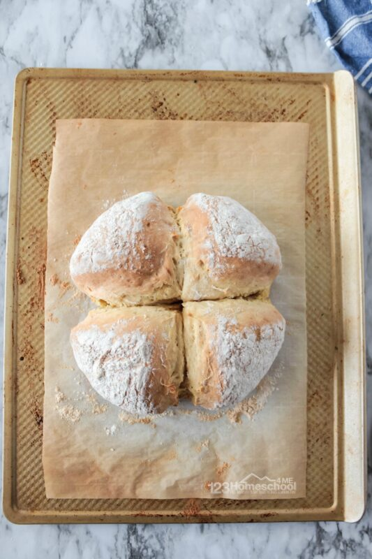 bread without yeast