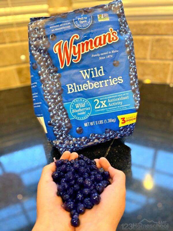 costco wymans wild blueberries frozen for blueberry muffin recipes