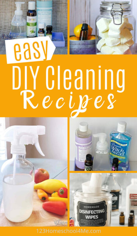 easy diy cleaning recipes