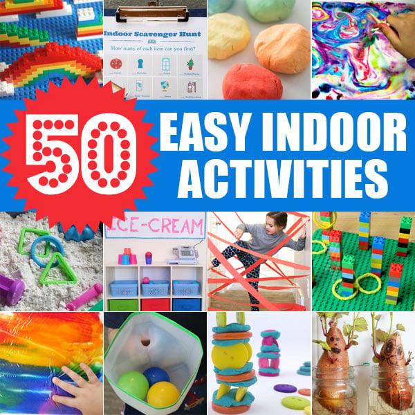 Easy Indoor Activities for Kids