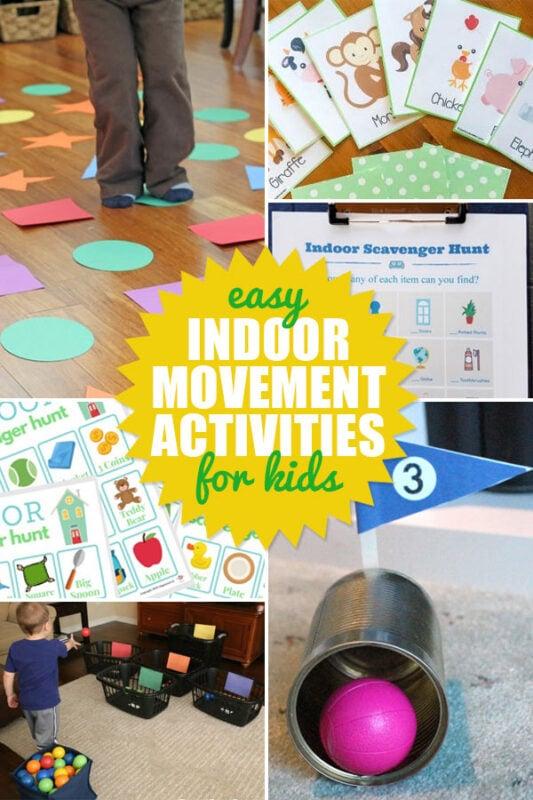 Indoor Movement Activities