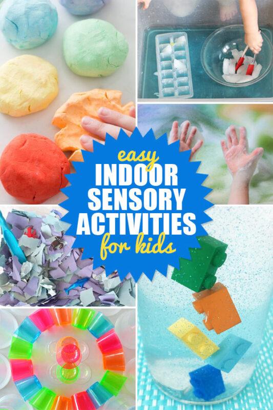 Indoor Sensory Activites