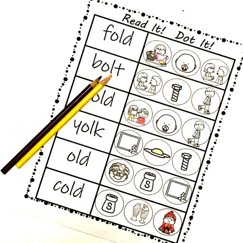 phonics printable to help 1st grade work on phonics for kids