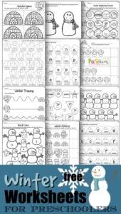 Snowman worksheets