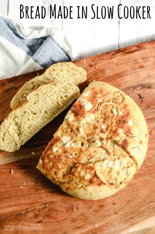 Bread Made in Slow Cooker