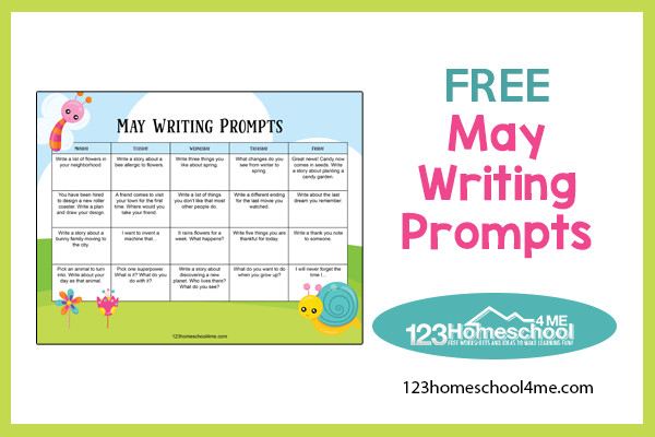 free printable Creative Writing Exercises