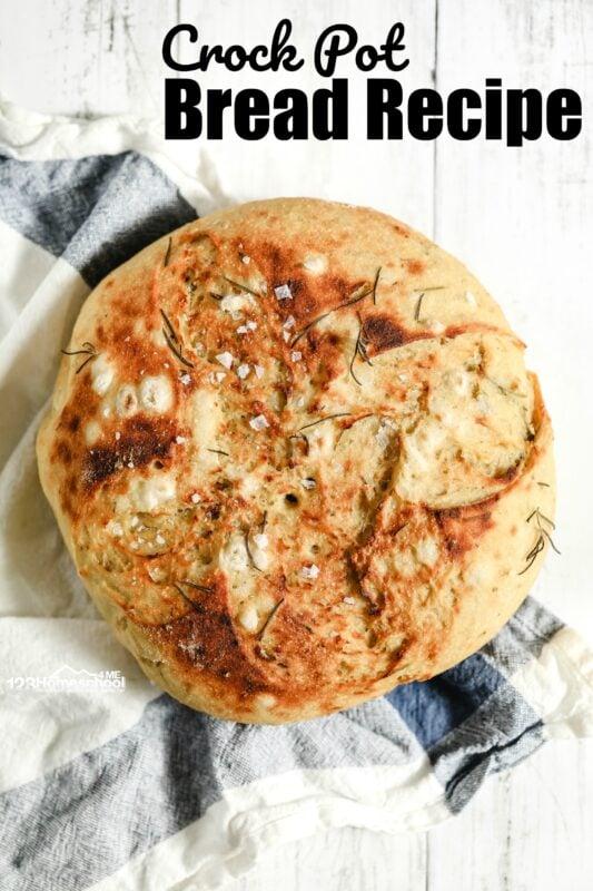 delicious, easy to make Crock Pot Bread Recipe