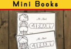Free printable germany mini book for kids of all ages