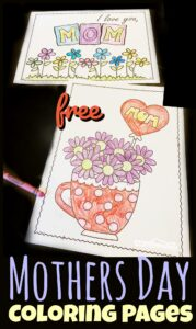 Help kids celebrate the amazing Moms in their lives with these no pre, free printable Mothers Day Coloring Sheets. This pack has 8 pages to choose from so you can find just the right coloring page for your Mum.