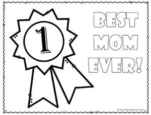 Mothers Day Coloring Sheets-page-009