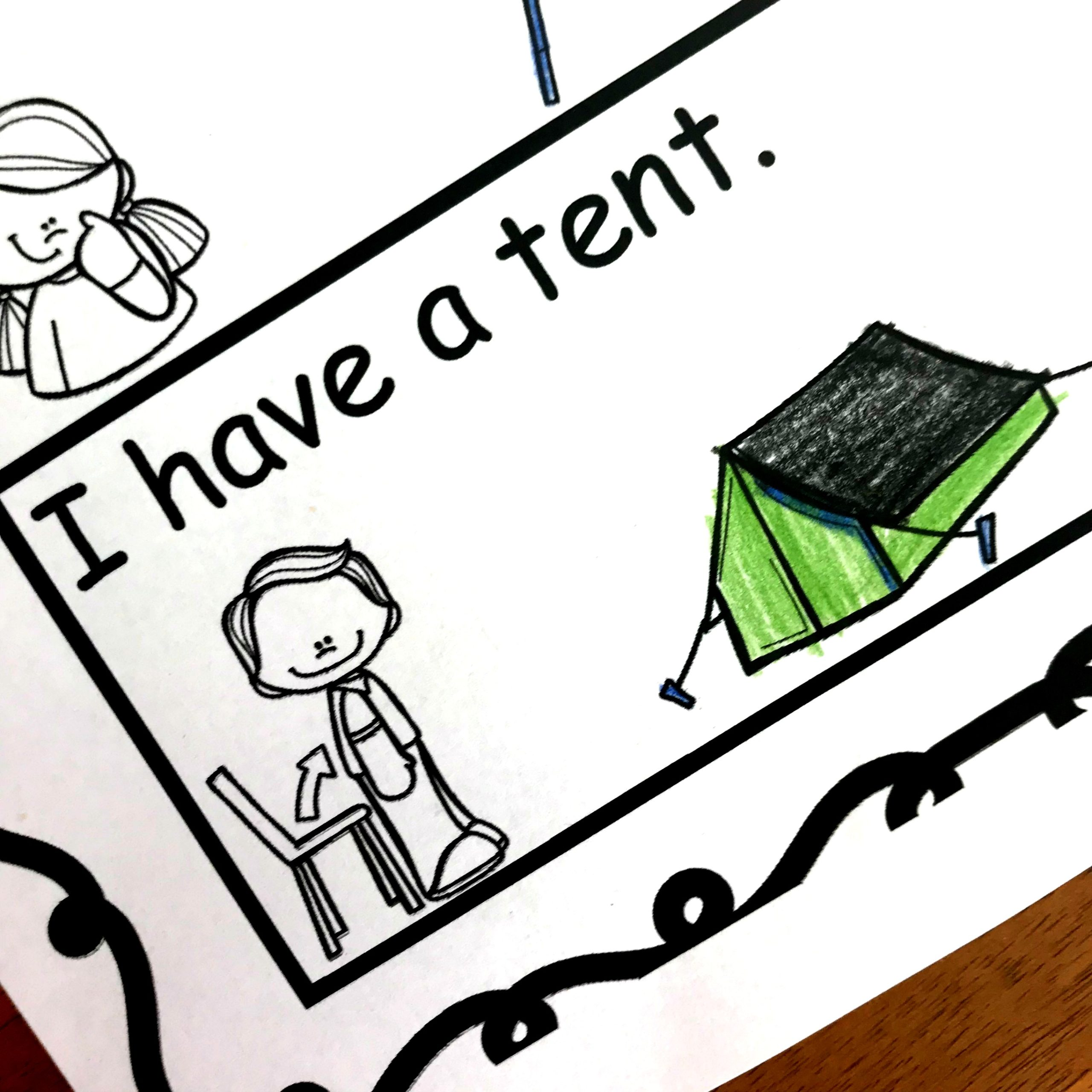 blends activity that is no prep! Just print and read I have a teNT