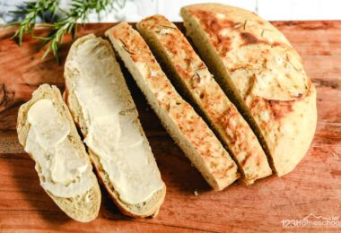 slice and enjoy this yummy delicious, easy to make Crock Pot Bread Recipe