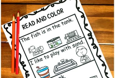 First grade students will have fun practicing reading n blends in sentences with these super cute, clever, and free printable Ending Blend Worksheets.