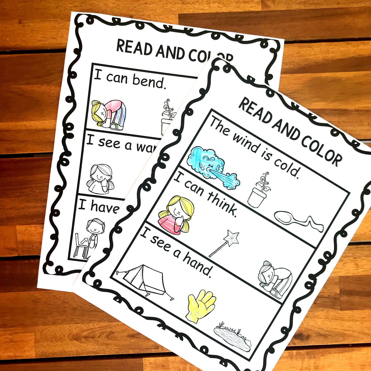 fun ending blends activity for working on n blends with grade 1 students