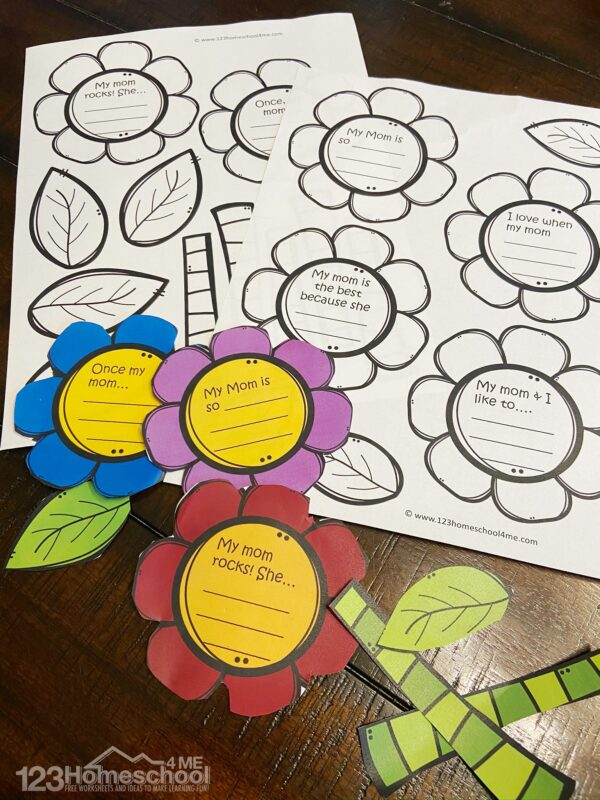 print this craft for mom in color or black and white