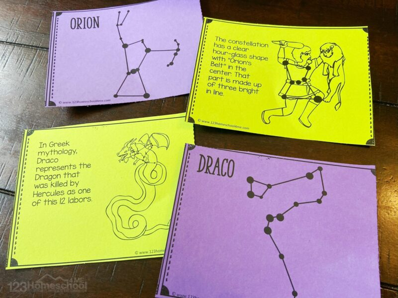 star constellations for kids printables and hands on activities to make learning fun