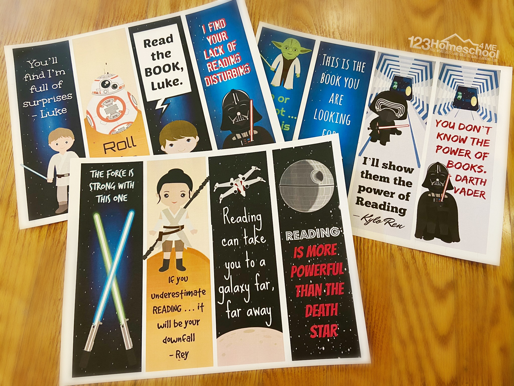 super cute free star wars printables for kids of all ages
