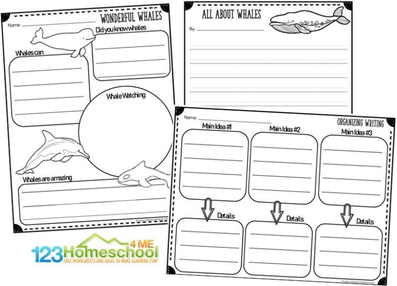 whale report form template and creative writing ideas