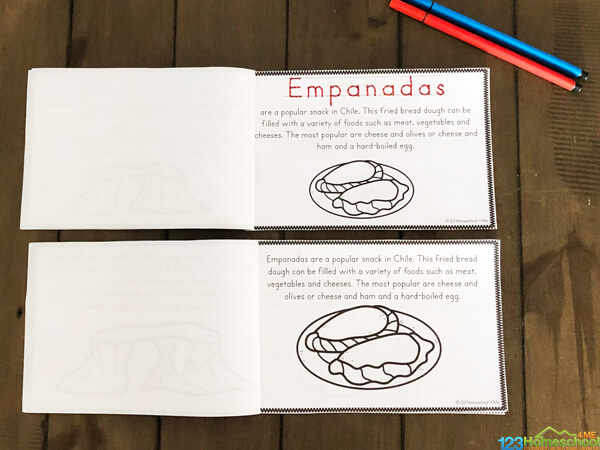 staple these Chile Worksheets together to make a country reader to learn about this south american country in your homeschool social studies or geography lesson