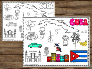 Cuba Coloring Pages