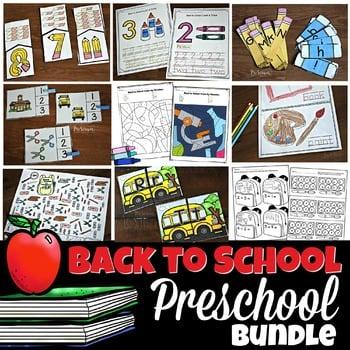 First Day of Preschool Activities