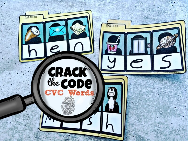 This educational activity where students will solve the case by using phonics skills is a fun first grade and Kindergarten CVC Words
