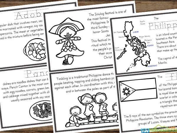 Philippines Printables for kindergarten, grade 1, grade 2, grade 3, grade 4, grade 5, and grade 6 students
