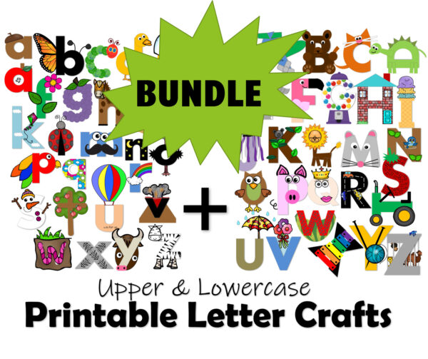 Printable Letter Crafts
