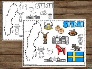 Free Sweden Coloring Pages