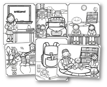 First Day Of Preschool Activities Bundle