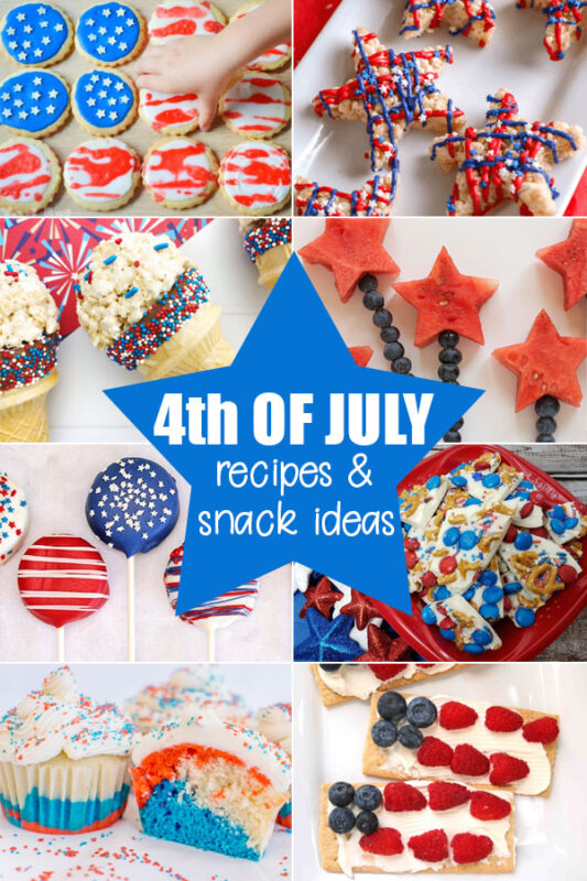 Fourth of July Snacks and Recipes
