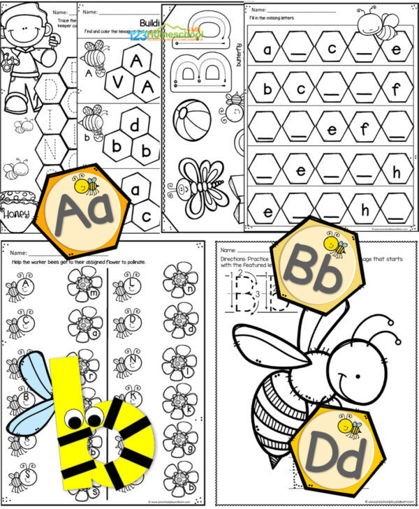 letter b preschool letter of the week unit